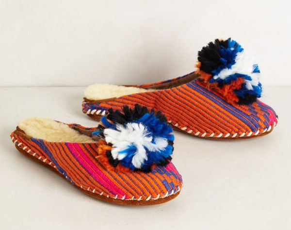 12 Cozy and Colorful Slippers For Winter