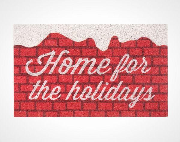 The 15 Best Designed Holiday Doormats
