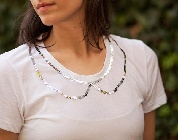 How to Bling Out a Basic Tee — No Sewing Machine Required!