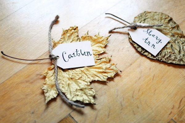 An Easy Way to Turn Anything Into a Place Card