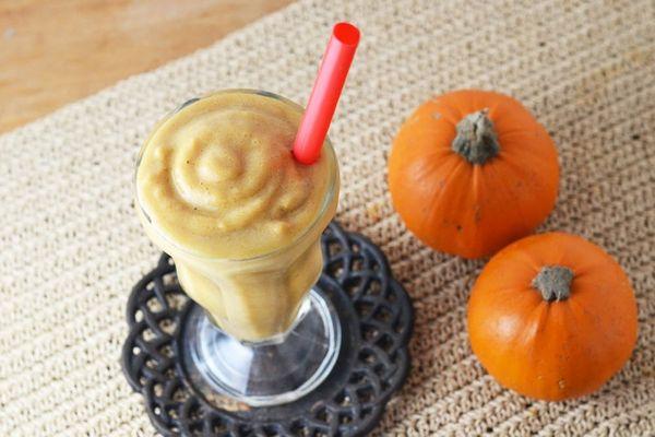 The Ultimate Pumpkin Spice Smoothie (Bonus, It's Dairy-Free!)