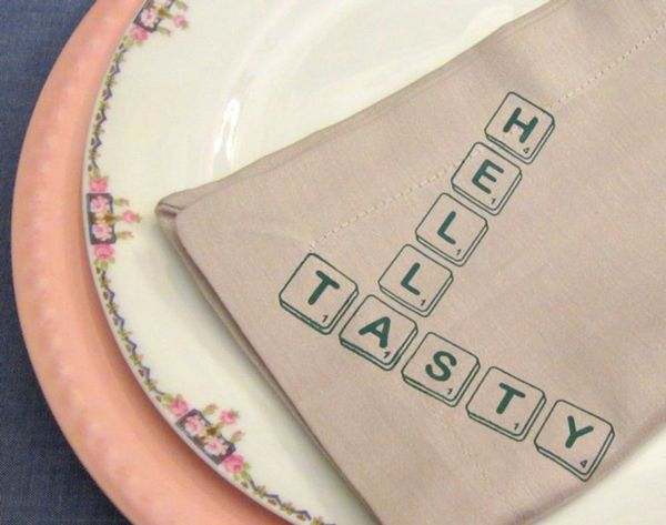 Upgrade Your Table with 12 Bold Cloth Napkins