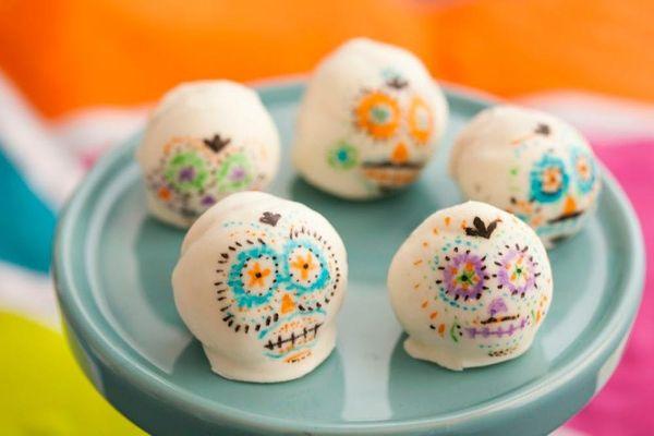 Sugar Skull Cake Balls