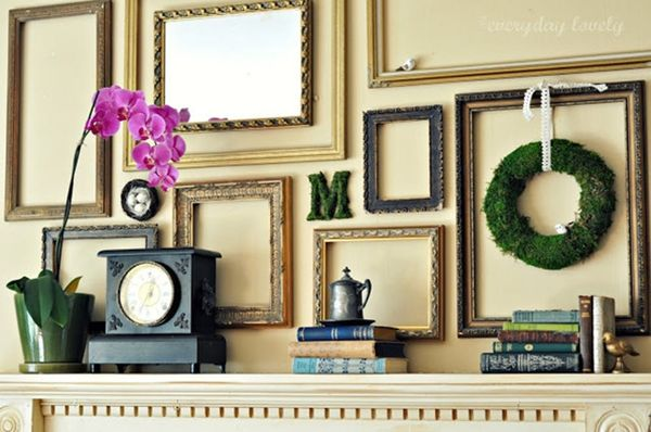 15 Ways to Put Your Mantel to Good Use