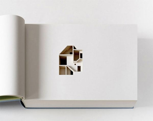 This Laser Cut Book Replicates an Entire House!