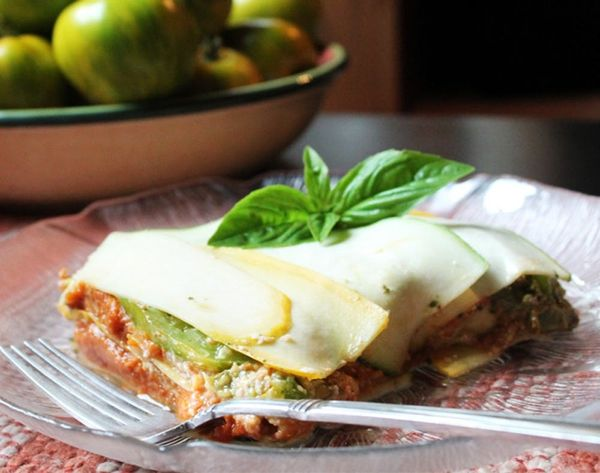 Raw, Vegan, Gluten-Free Lasagna That Doesn't Suck