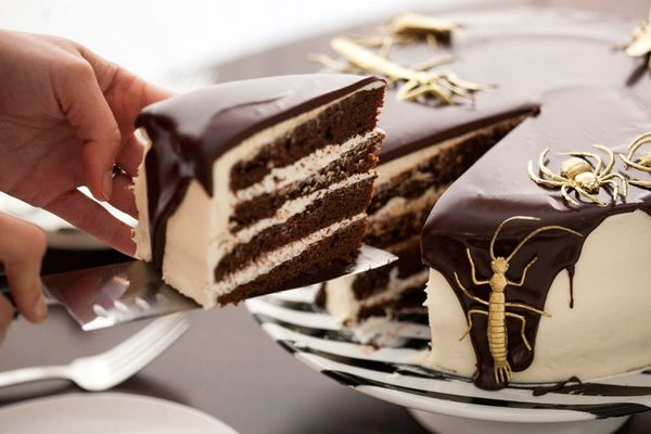 You'll Bug Out Over our Black and White Tuxedo Cake