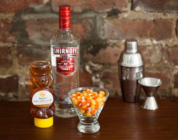 Sweet! Classic Candy Corn Martini