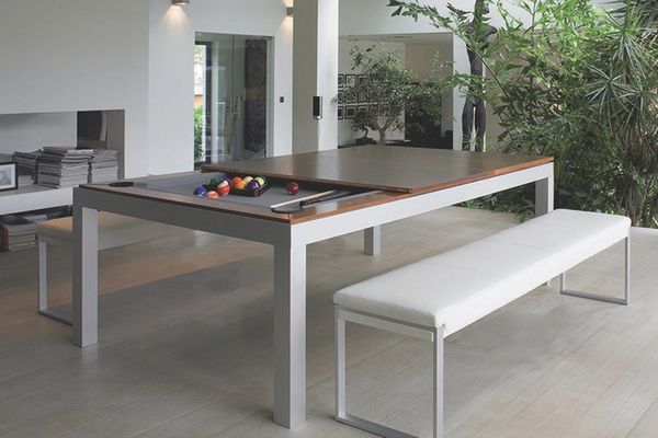 Made Us Look: A Pool Table and Dining Table in One!