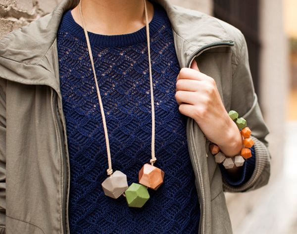 Get Your Bead On! DIY Geode Statement Jewelry