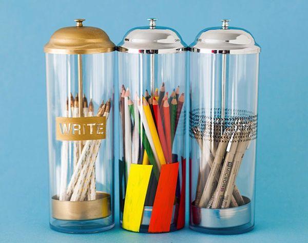 Pop-Up Pencil Holders 3 Ways