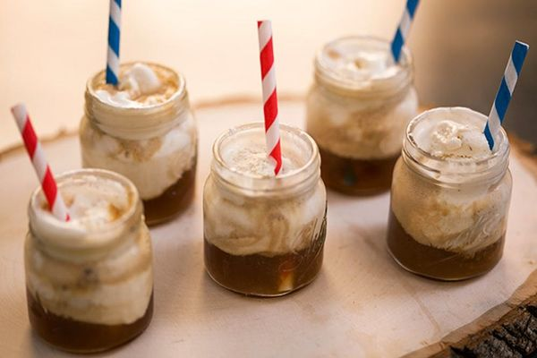 Spike Your Sweets: ROOT Beer Float Shooters