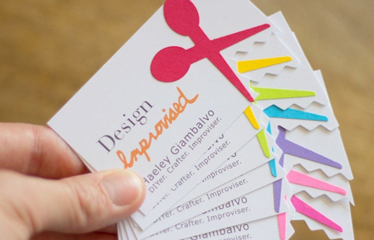 Stand Out With 24 Diy Business Cards
