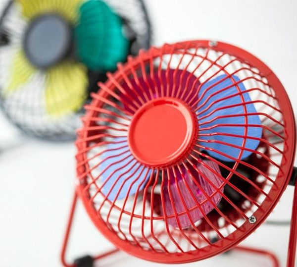 What Happens When You Make a Color Blocked Fan Spin?