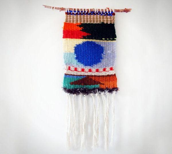Woven Wonders: 20 Gorgeous Hanging Textiles
