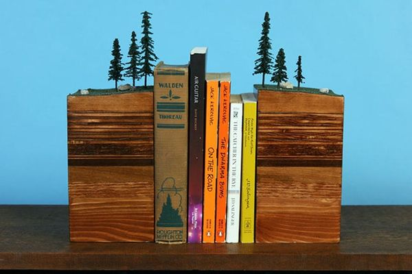 22 Bookends to Keep Your Books in Line