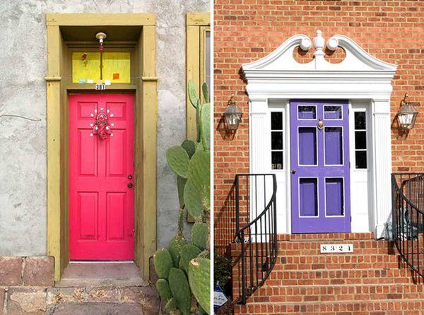 15 Summery Front Doors