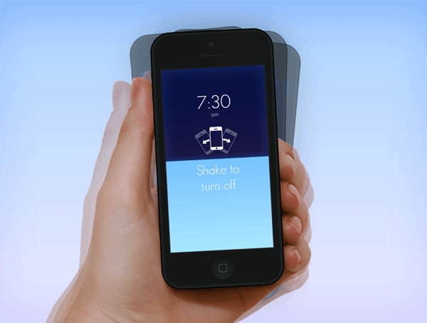 Slap, Flip, Shake —Then Get Out of Bed with the Wake Alarm App