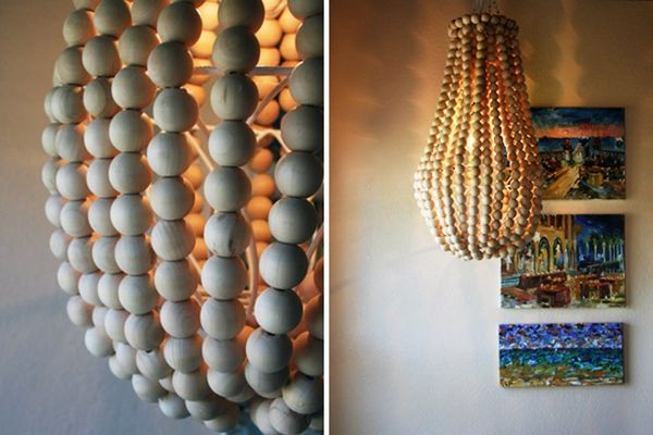 How to Make a Wooden Chandelier