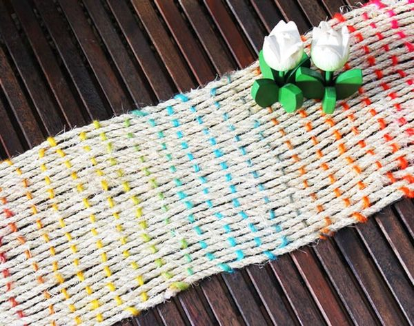 How to Weave a Rope Table Runner