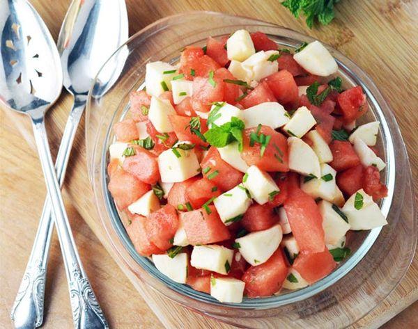 Summer Salad Remix: Watermelon Mozzarella Ceviche