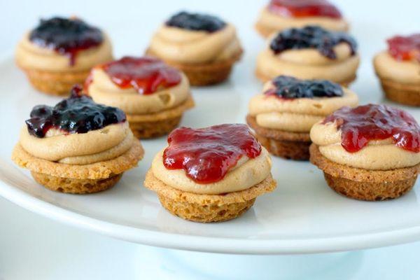 Recipe Remix: PB&J Cookie Cupcakes