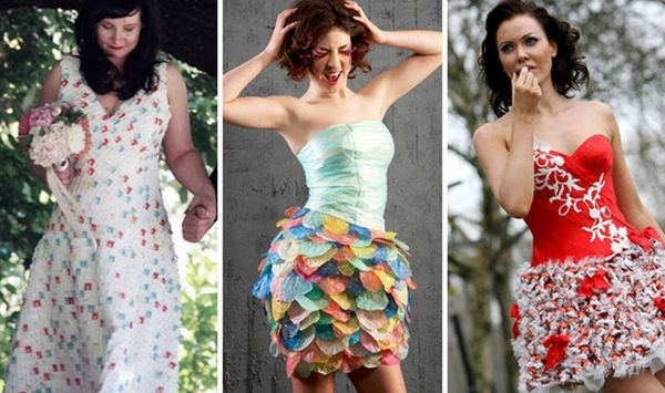 15 Inventive Dresses Made from Recycled Materials