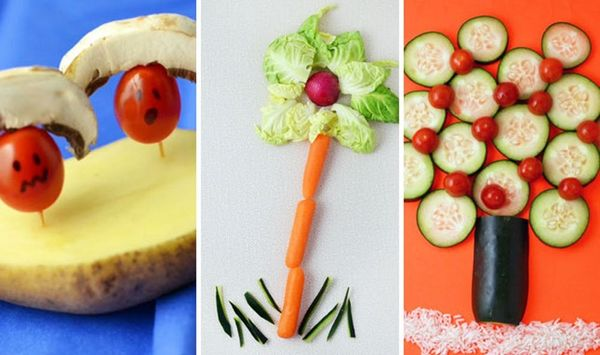 5 Fun and Silly Ways to Play with Your Veggies