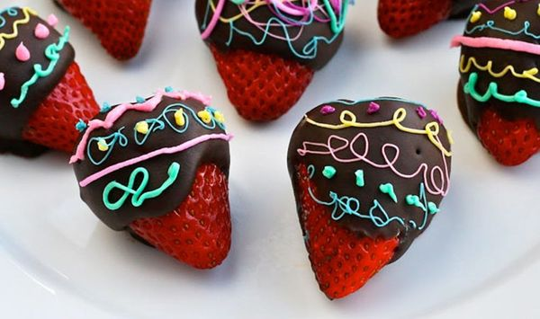 Spike Your Sweets: Chocolate-Covered Amaretto Strawberries