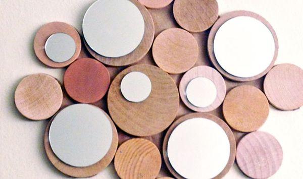 DIY Copycat: Anthropologie Wooden Orbit Mirror