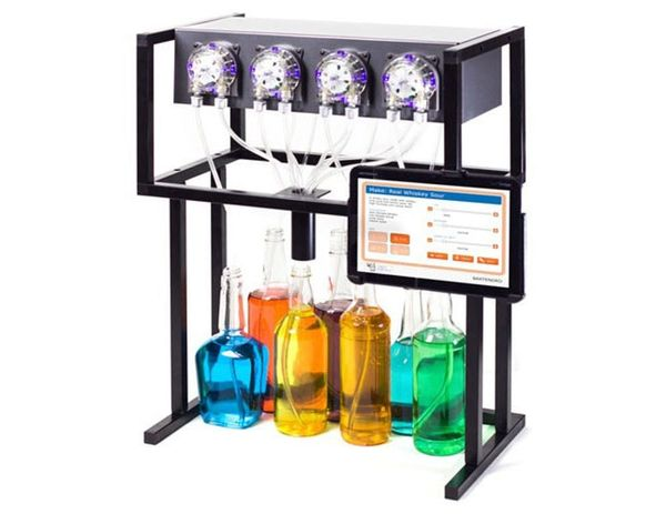 Bartendro: A Cocktail Dispensing Robot
