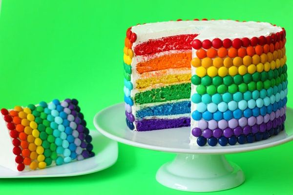 Rainbow Madness: Introducing The Double Rainbow Cake Recipe
