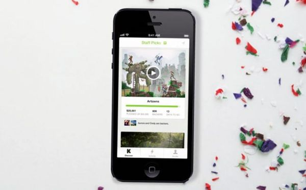 Now You Can Browse and Fund Kickstarter Projects On The Go