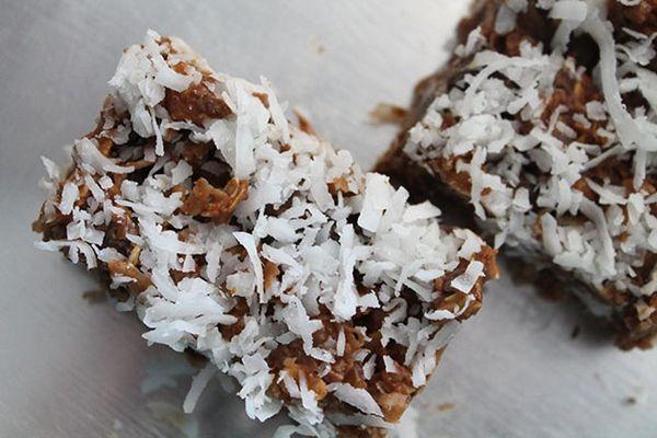 Totally Addictive No-Bake Peanut Butter Coconut Bars