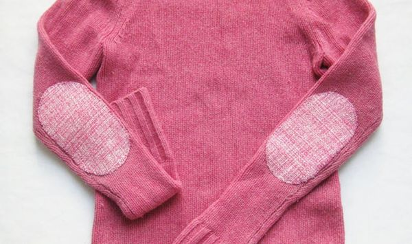 DIY Basics: How to Add Trendy Elbow Patches to Boring Sweaters