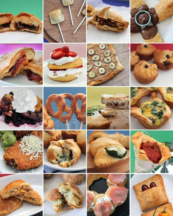We're on a Roll: 20 Creative Recipes to Cook with Crescent Rolls