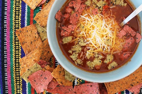Chicken Tortilla Soup in Only 3 Ingredients!