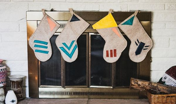 How to Make Hipster Holiday Stockings