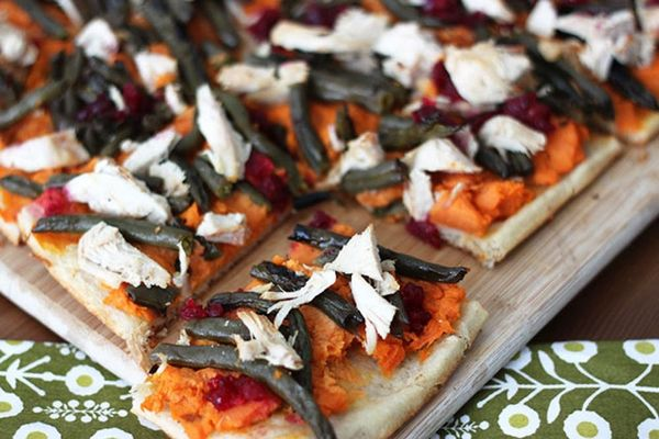 Upcycle Your Leftovers with this Thanksgiving Flatbread Recipe