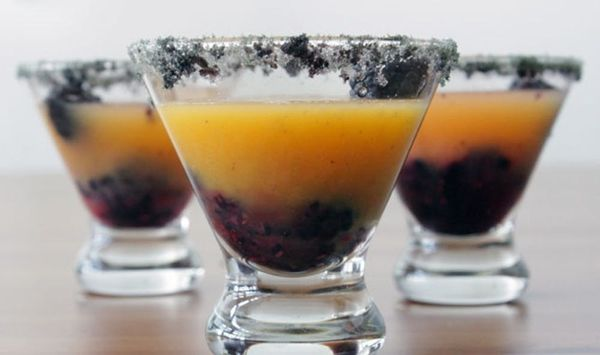 Celebrate Halloween and the Giants with Our Black + Orange Rum Punch