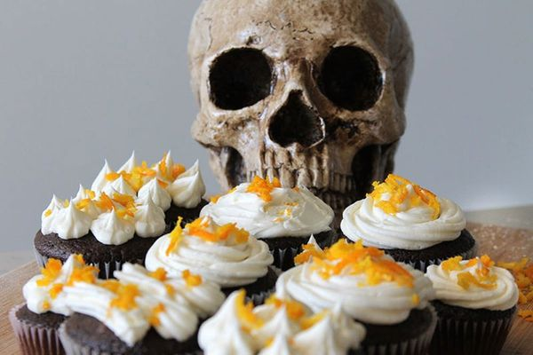 Spike Your Sweets: Boo-zy Cointreau Cupcakes