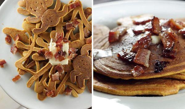 You're Going to Flip Over Our Pumpkin Bacon Pancakes Recipe