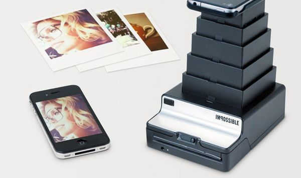 The Impossible Instant Lab Turns Your Digital Pictures into Instant Photos