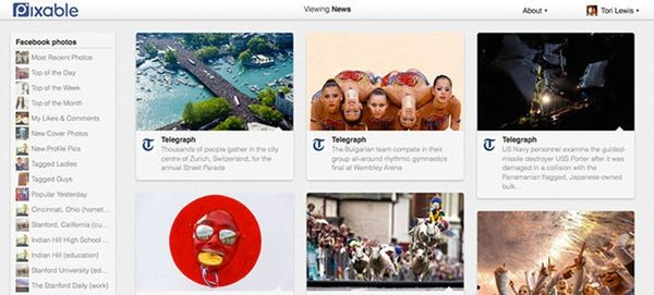 See Your Twitter, Facebook and Instagram Photos in One Place with Pixable