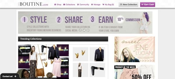 Boutine Lets You Go Shopping with Friends… Online!