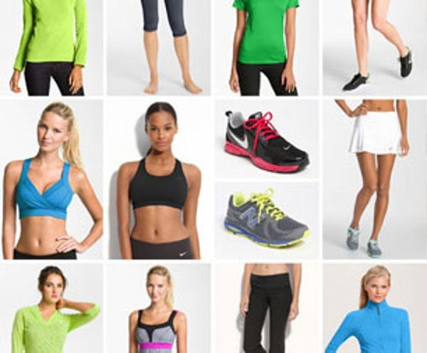 Channel Your Inner Olympian with a Brand New Workout Wardrobe