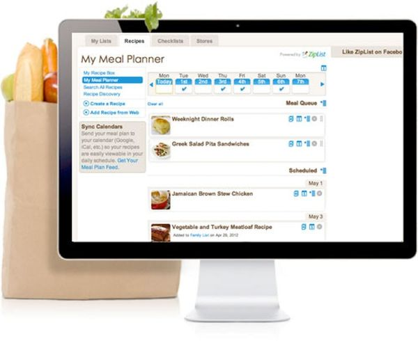 ZipList Turns Your Favorite Pinterest Recipes into Grocery Lists