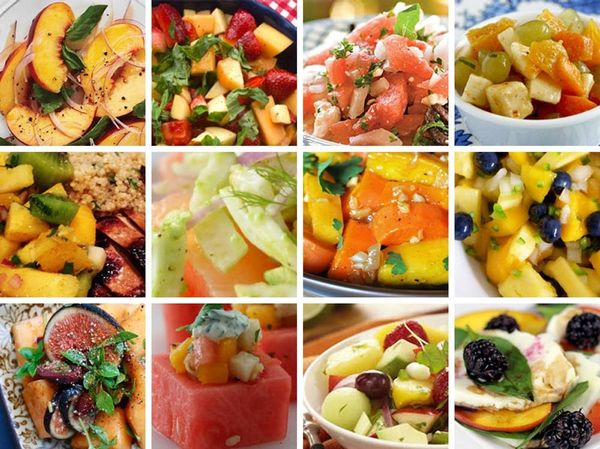 Switch Up Your Summer With 12 Savory Fruit Salads