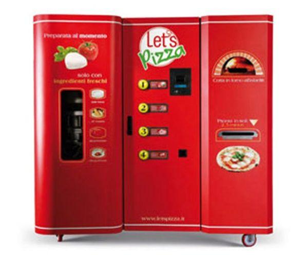 An Entire Pizzeria in a Vending Machine?