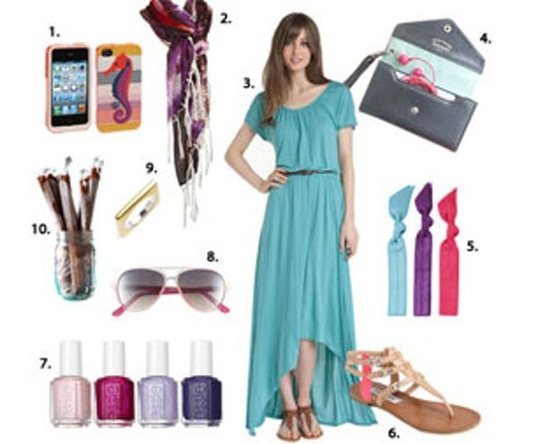 Summer Style Swoon: Asymmetrical Hems, Acid-Dyed Scarves & Aviators